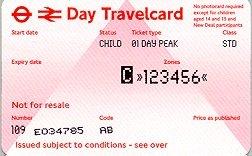 Travelcard 2 dagen 6 zones Anytime Kind