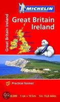 Wegenkaart Great Britain & Ireland