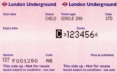 Underground enkele reis