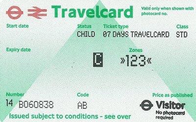 Travelcard 7 dagen